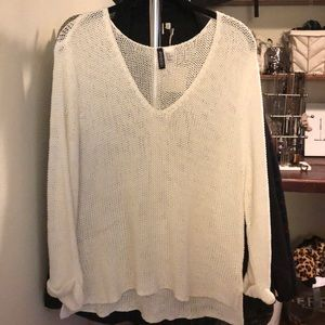 H&M Knitted White Sweater
